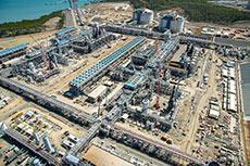 Santos GLNG installs final LNG train module