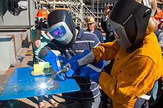 Keel laying ceremony for APT LNG-ready tanker