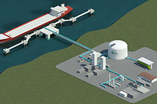 WesPac Midstream files application to export LNG