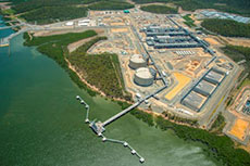 APLNG commences LNG production