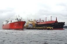 Angola LNG delivers first cargo