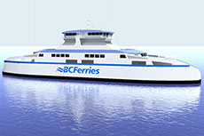 BC Ferries awards contracts for new LNG ferries