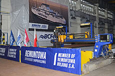 Steel cutting ceremony for LNG ferry