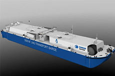 ABS grants LNG transport barge AIP