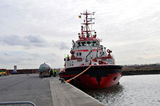Zeebrugge performs bunkering of LNG tugboat