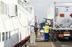 Bomin Linde LNG fuels passenger ferry