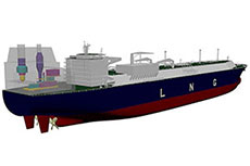 GE Marine and DSIC receive AIP for LNG carrier design