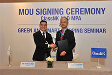 ClassNK signs MoU with Maritime and Port Authority of Singapore