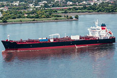 Crowley christens new Jones Act product tanker