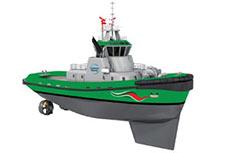 Wärtsilä wins LNG-fuelled tug contract
