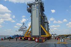AG&P ALE deploys hydro deck at Ichthys LNG
