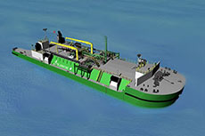EBDG gains approval for LNG bunkering barge