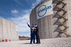 Enagás net profits up slightly