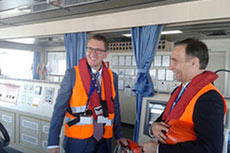 Lithuania's Minister of Energy visits LNG terminal