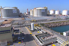 VIDEO: FCC Industrial's LNG tanks