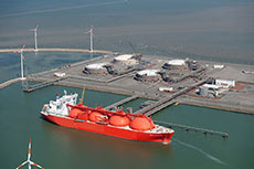 Fluxys carriers unloaded at Zeebrugge LNG terminal
