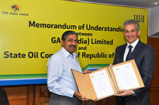 GAIL and SOCAR enter MoU