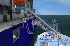 GTT receives AIP for LNG bunker mast from BV