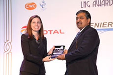Shri Tripathi of Gail awarded 'Best LNG Executive Global Award'