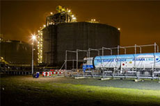 Gate terminal loads 1000th truck with LNG