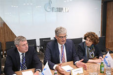 Gazprom and Gasunie discuss collaboration