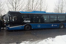 LNG buses introduced to Slovakia