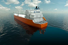 Höegh LNG takes FSRU delivery