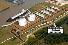 Magnolia LNG on track