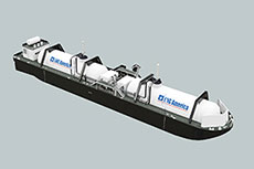 ABS to class LNG America bunker barges