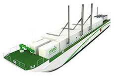 Chart wins LNG fuel system contract