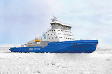 ABB provides propulsion units onboard LNG icebreaker