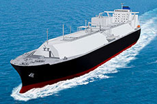 MOL to charter LNG carrier