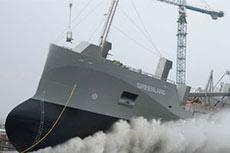 Ferus Smit launches LNG-fuelled cement tanker