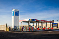 Blu. launches gas recapture system at LNG station