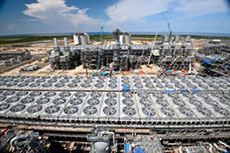 PNG LNG project is 95% complete
