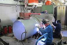 Pentair supports ball valve repair project