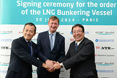 NYK orders LNG bunkering vessel