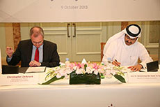 Qatargas and E.ON sign LNG SPA