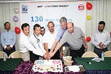 RasGas celebrates new safety milestone