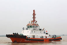 Rolls-Royce engines used in Asia's first LNG-powered tug