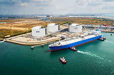 Four companies compete for Singapore LNG