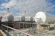 Argentine President inaugurates Buquebus LNG plant