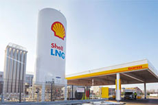 Shell announces new LNG truck refuelling station