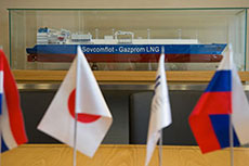 LNG carrier funding for Sovcomflot