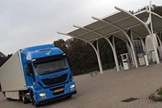 Dutch company orders Iveco LNG truck