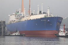 Teekay launches LNG newbuild