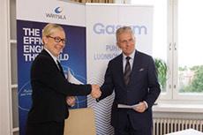 Wärtsilä and Gasum form joint cooperation