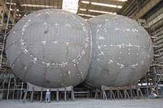 Bureau Veritas classes bilobe LNG tanks