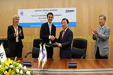 BW, DSME sign LNG shipbuilding contracts