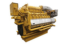 Caterpillar engines power LNG-hybrid barge